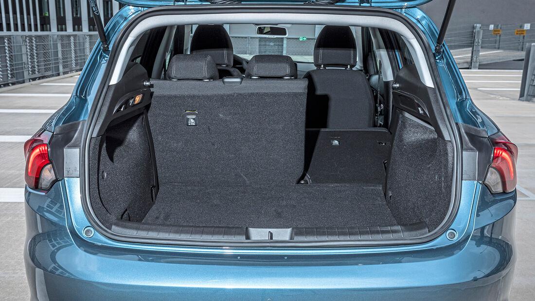 Fiat Tipo Facelift, Schrägheck Kofferraum
