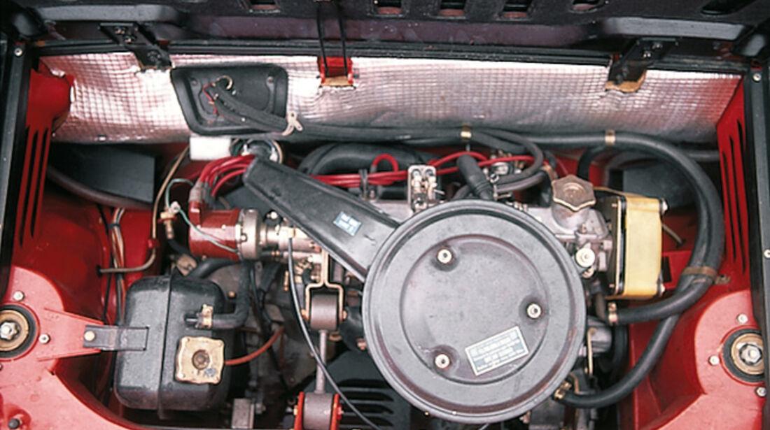 Fiat X 1/9, Motor