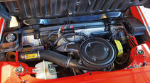 Fiat X 1/9, Motorraum, Detail
