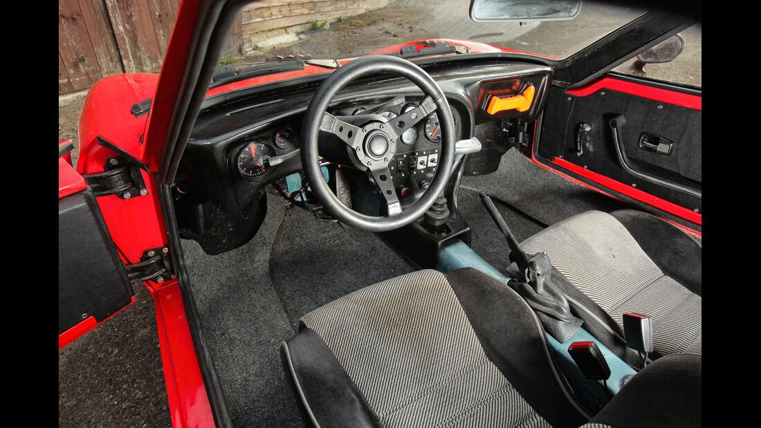 Fiberfab Bonito, Cockpit, Lenkrad