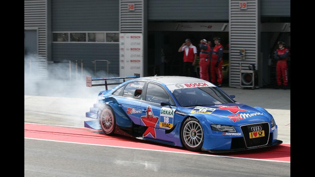 Filipe Albuquerque DTM Lausitzring 2011