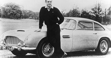 Filmautos - James Bond Aston Martin
