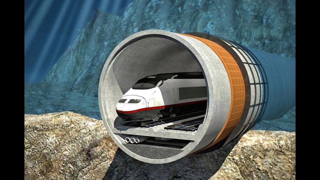 Finest Bay Area Railway Tunnel Helsinki Tallin