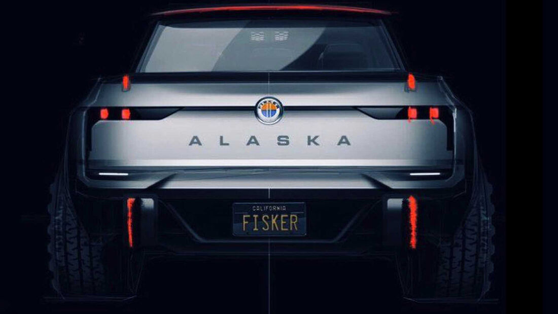 Fisker Alaska Teaser Pickup