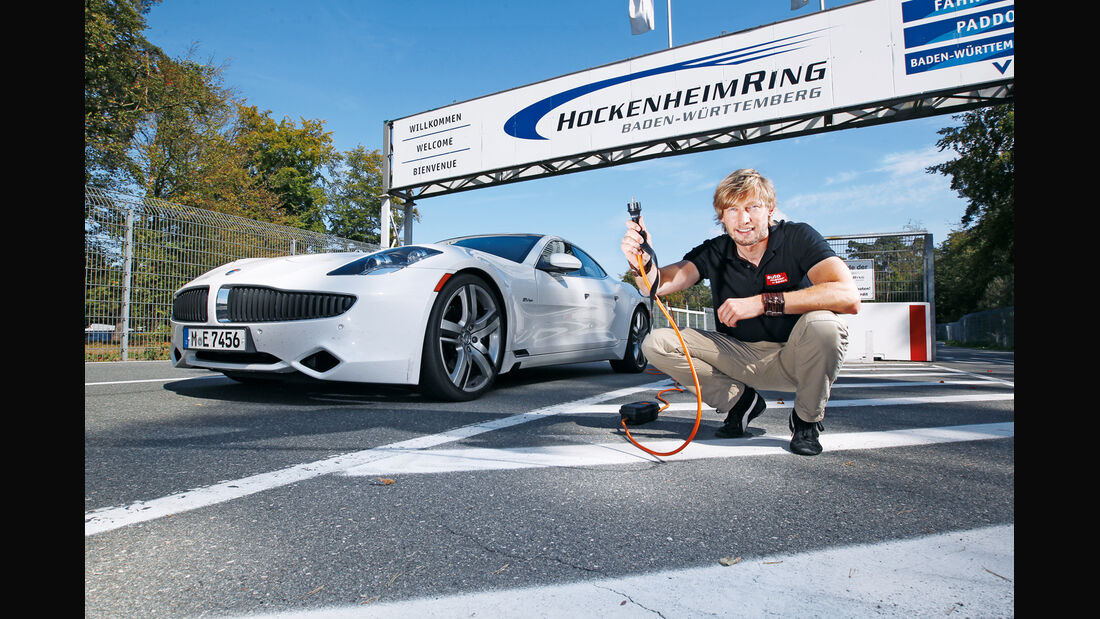 Fisker Karma, Frontansicht, Marcus Peters