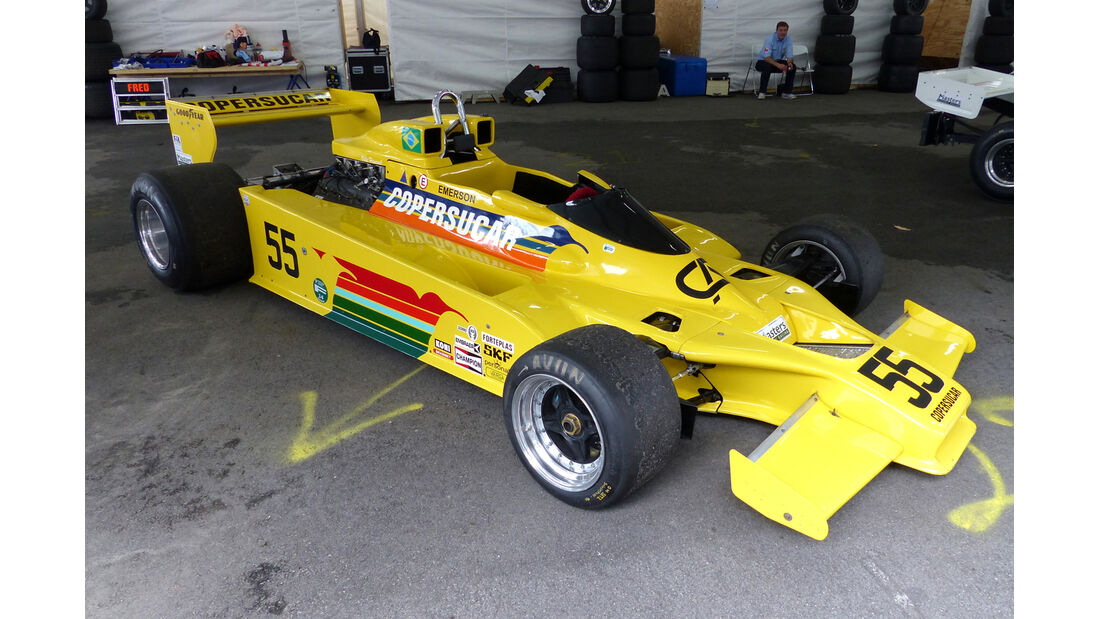 Fittipaldi - Copersucar - Formel 1