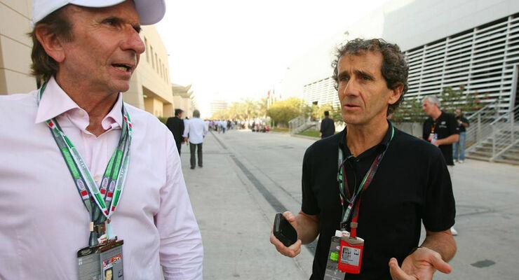 Fittipaldi und Prost