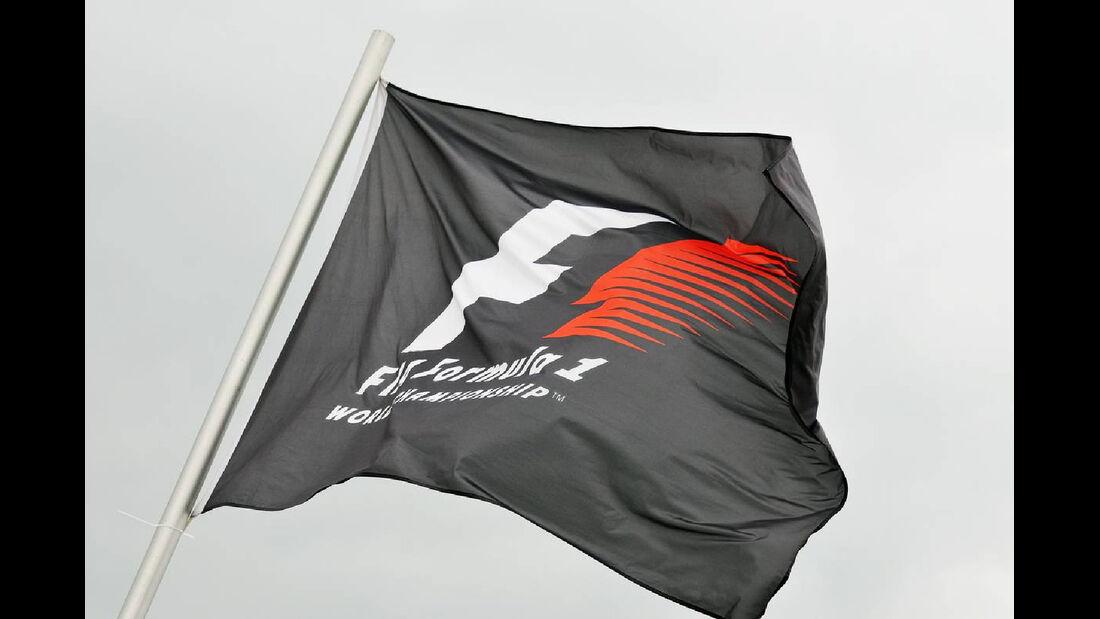 Flagge - Formel 1 - GP Deutschland - 19. Juli 2012