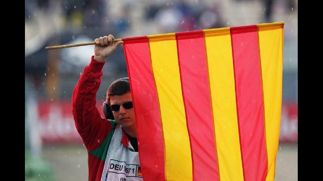 Flagge - Formel 1 - GP Deutschland - 21. Juli 2012