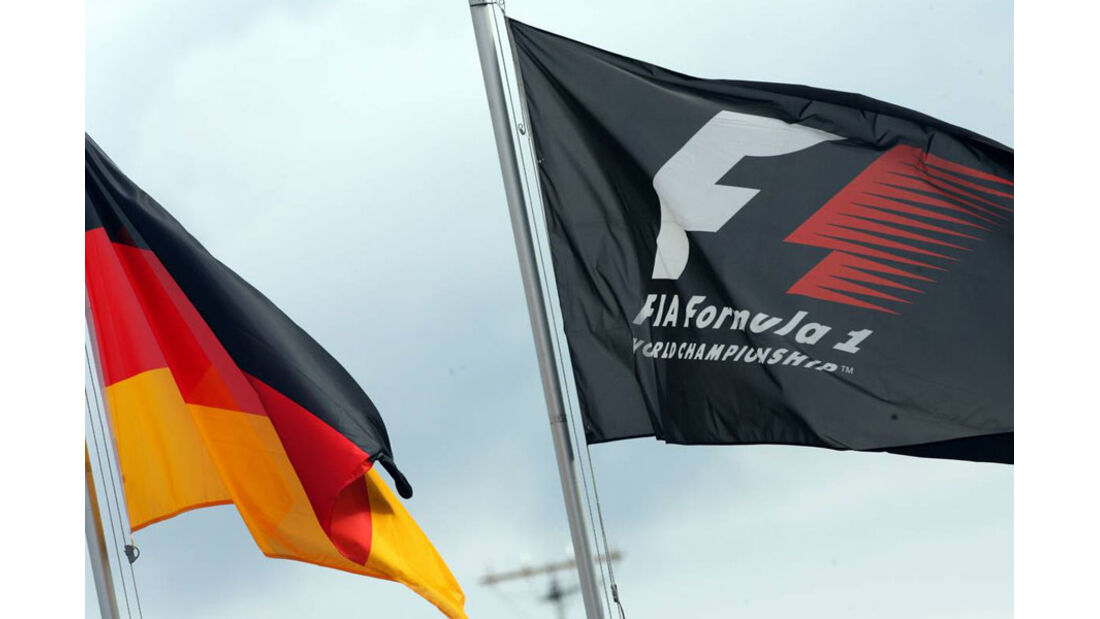 Flagge - GP Deutschland - Nürburgring - 22. Juli 2011