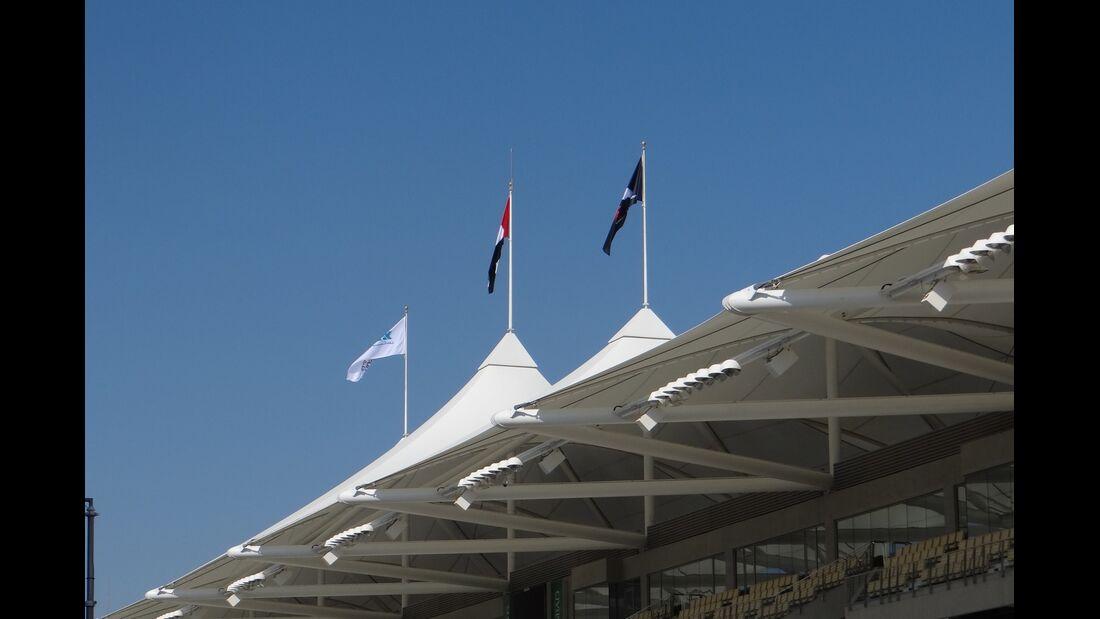 Flaggen - Formel 1 - GP Abu Dhabi - 01. November 2012