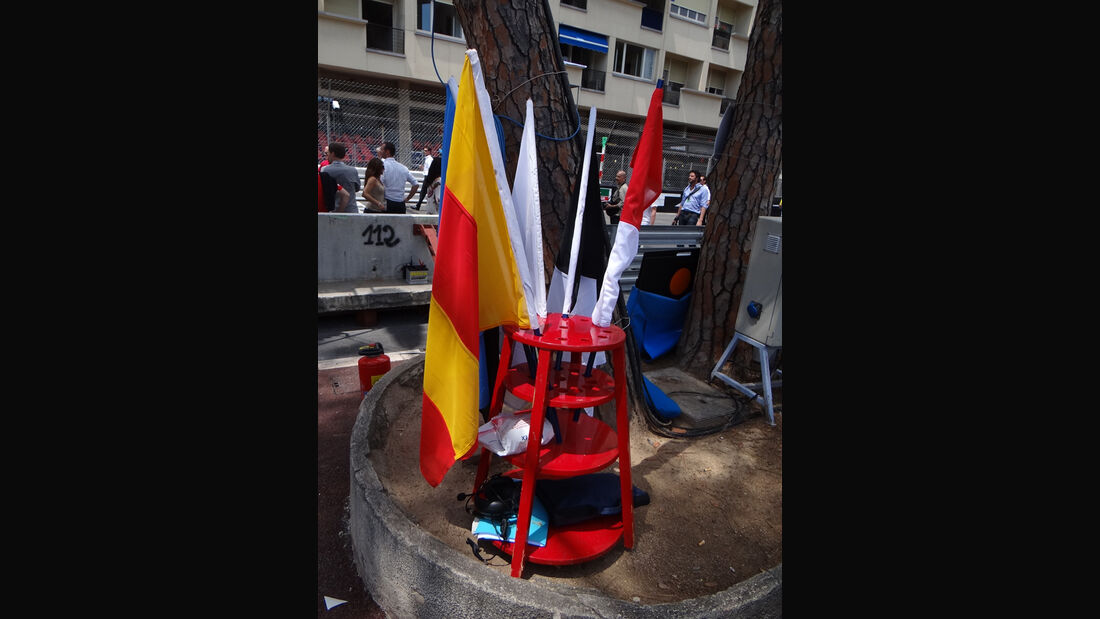 Flaggen - Formel 1 - GP Monaco - 24. Mai 2012