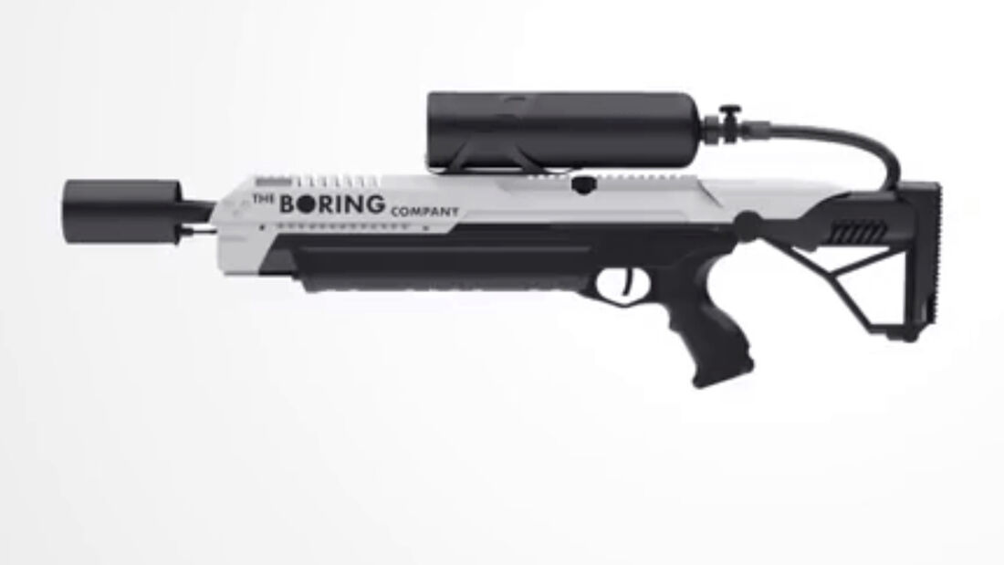 Flammenwerfer Not a flamethrower The Boring Company