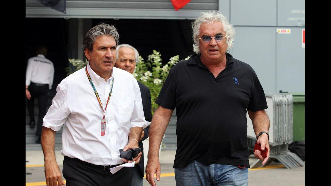 Flavio Briatore   - Formel 1 - GP Italien - 5. September 2014