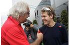 Flavio Briatore mit Sebastian Vettel