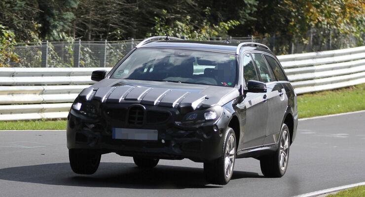 Fliegende Erlkönige, Mercedes E-Klasse T-Modell