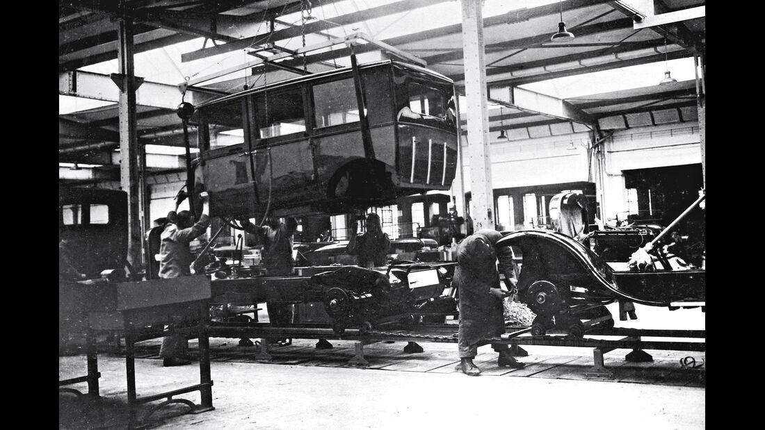 Fließband, 1923/24 , Opel
