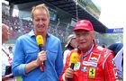 Florian König & Niki Lauda - GP Österreich 2014 - Legenden