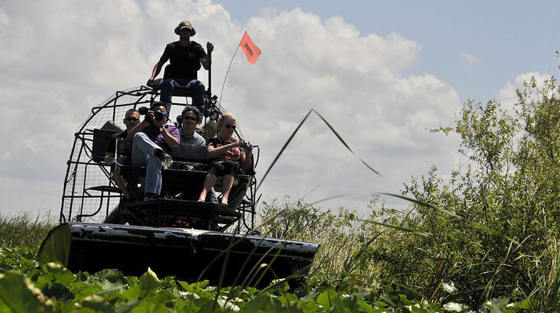 Florida mit BMW X5, Airboat