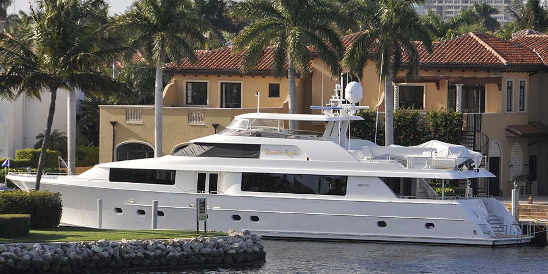 Florida mit BMW X5, Yacht