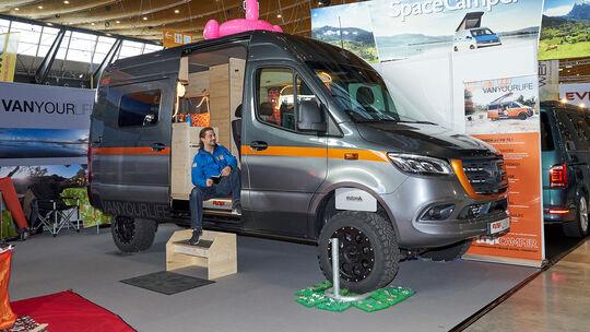 Flowcamper, Mercedes Sprinter, Campingbus, CMT 2020