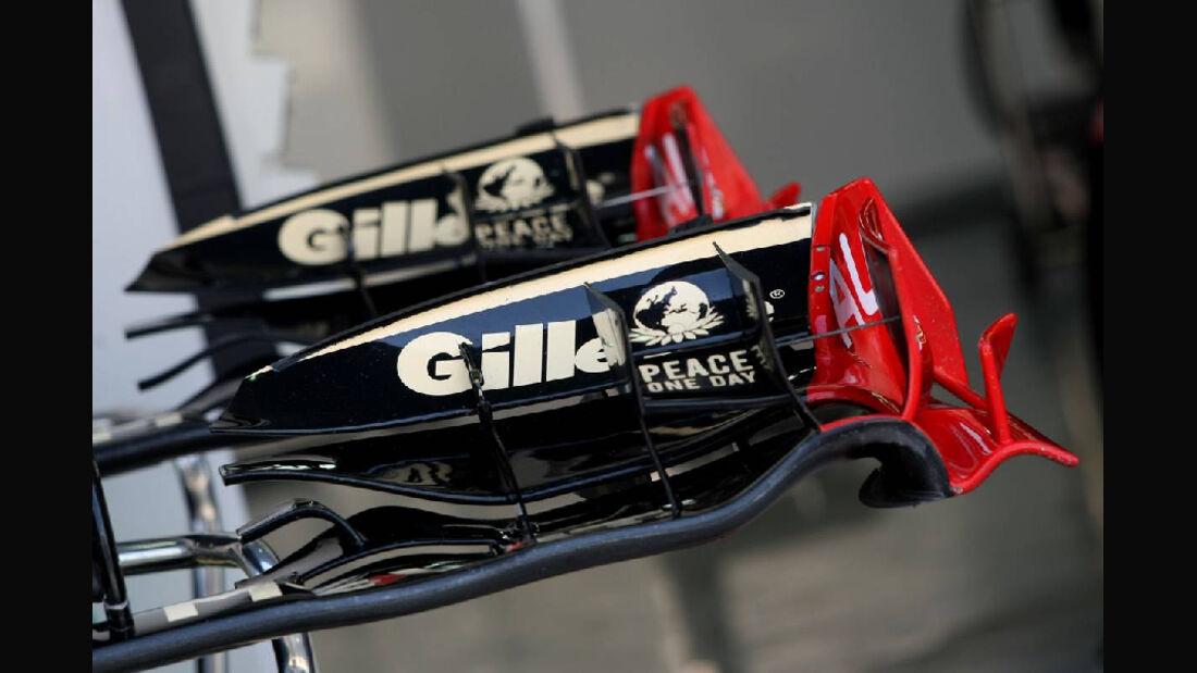 Flügel  - Formel 1 - GP Korea - 13. Oktober 2011
