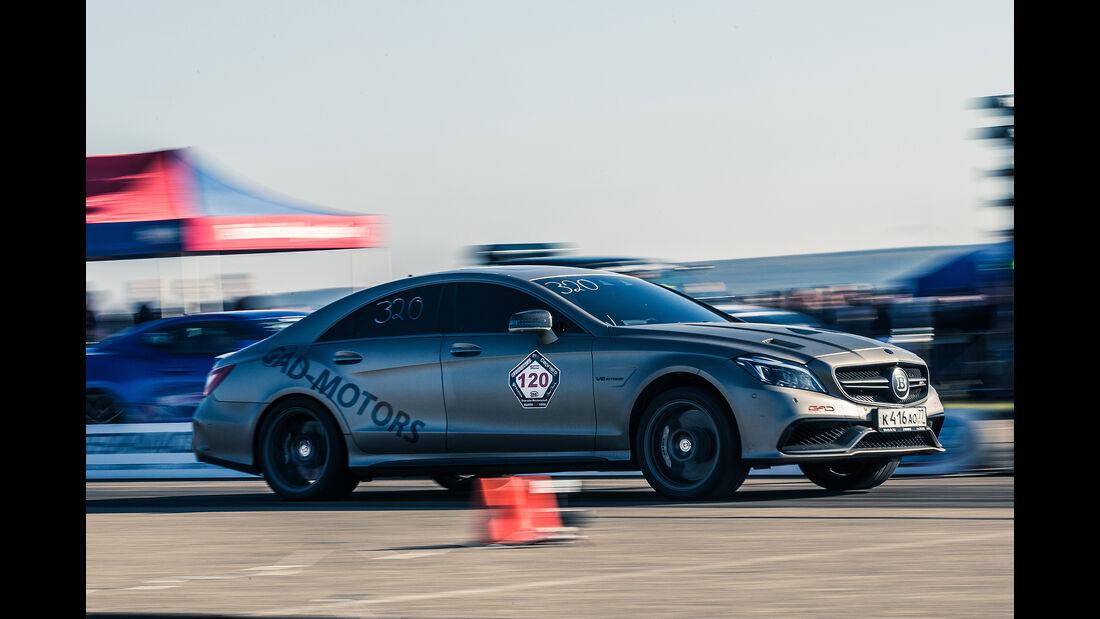 Flugplatzblasen 2016, Mercedes CLS