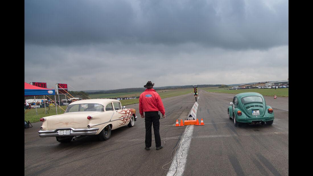 Flugplatzblasen, Flugplatz, Quartermile, Rennen, Impression