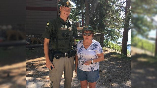 Fön Radar Pistole Attrappe State Trooper Montana