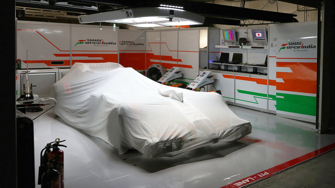 Force India 2014 - Parc Fermé