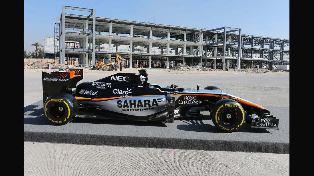 Force India - 2015