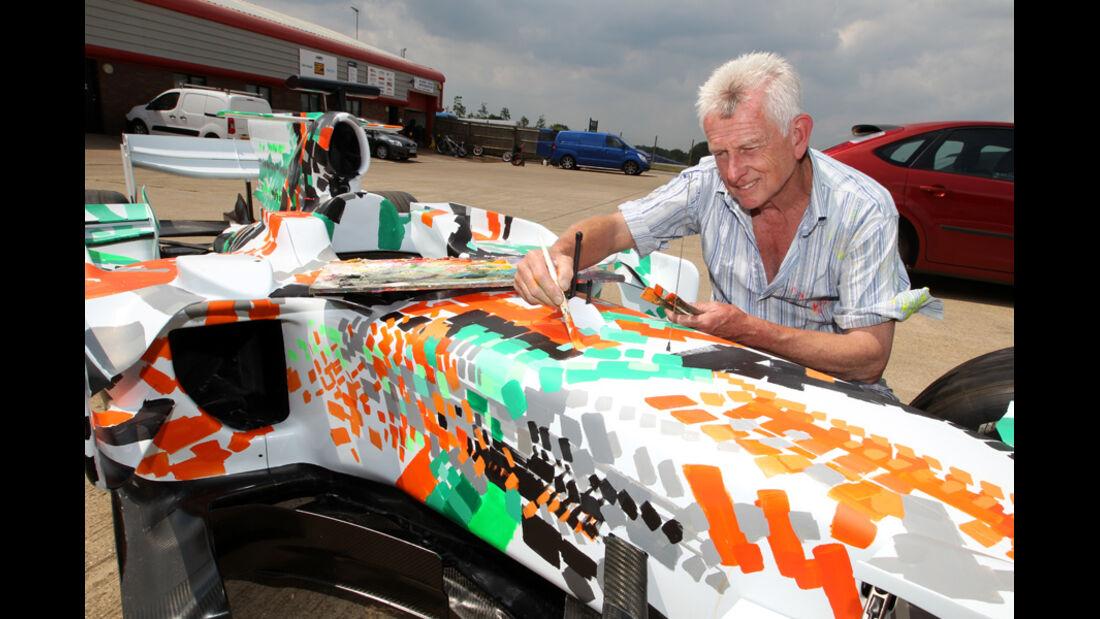 Force India Art Car 2011