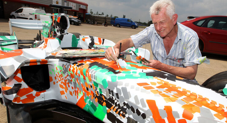 Force India Art Car 2011