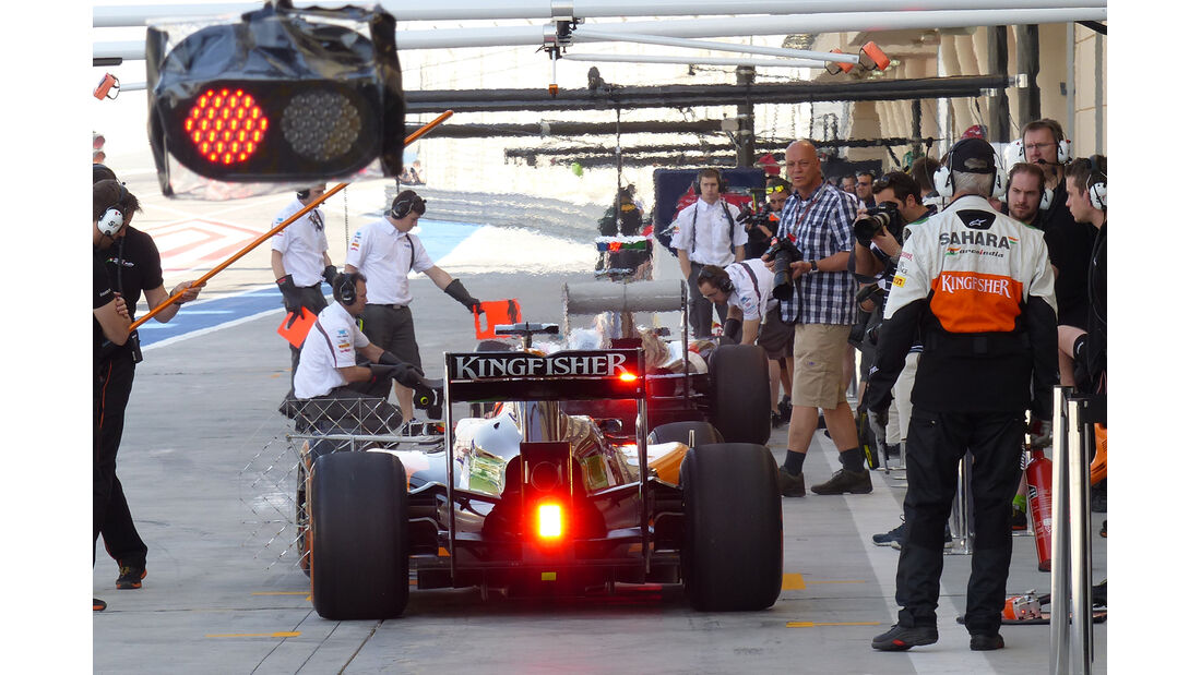 Force India - Bahrain - Formel 1 Test - 2014