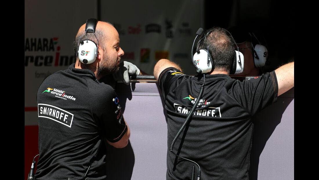 Force India - Barcelona - F1 Test 2 - 14. Mai 2014