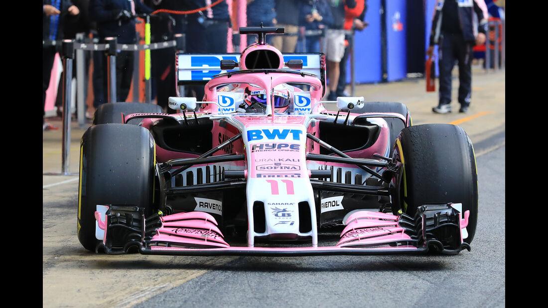 Force India - Barcelona F1-Test 2018