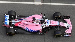 Force India - Barcelona F1-Test 2018