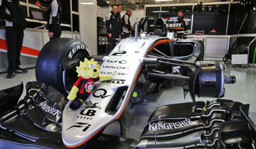 Force India - Bayer Leverkusen - GP Mexiko 2016