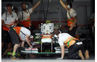 Force India Box - Formel 1 - GP Bahrain - 20. April 2013