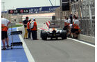 Force India Boxengasse - Formel 1 - GP Bahrain - 18. April 2013