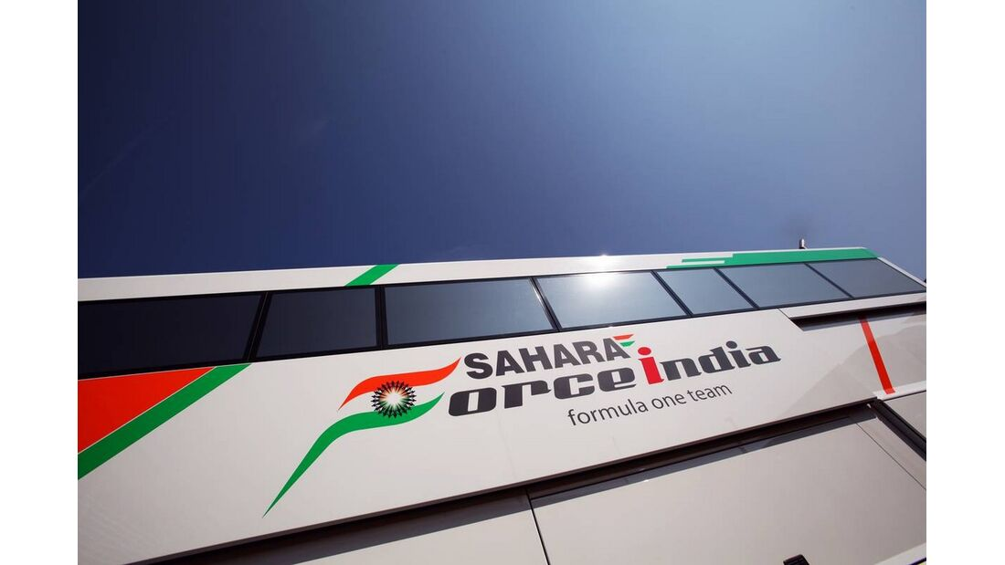 Force India Bus - Formel 1 - GP Italien - 6. September 2012