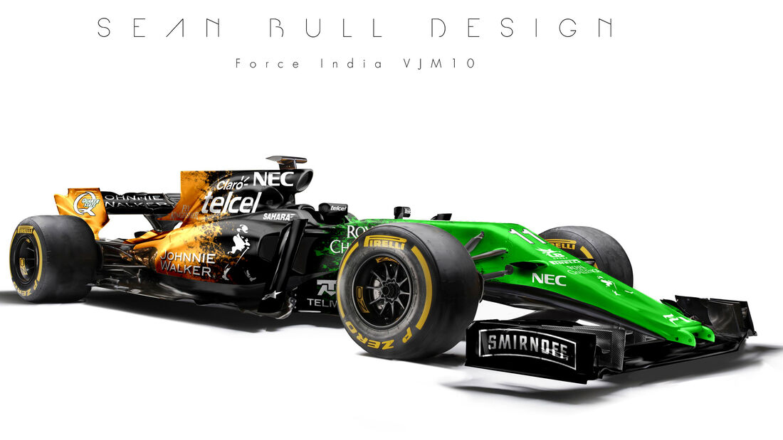Force India - F1-Designs 2017 - Sean Bull - Formel 1