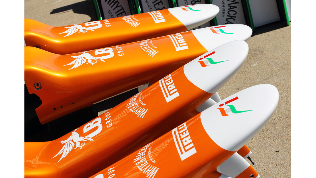 Force India F1 Fun Pics 2012