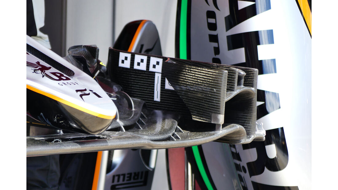 Force India - F1 - GP Spanien - Barcelona - Donnerstag - 12.5.2016