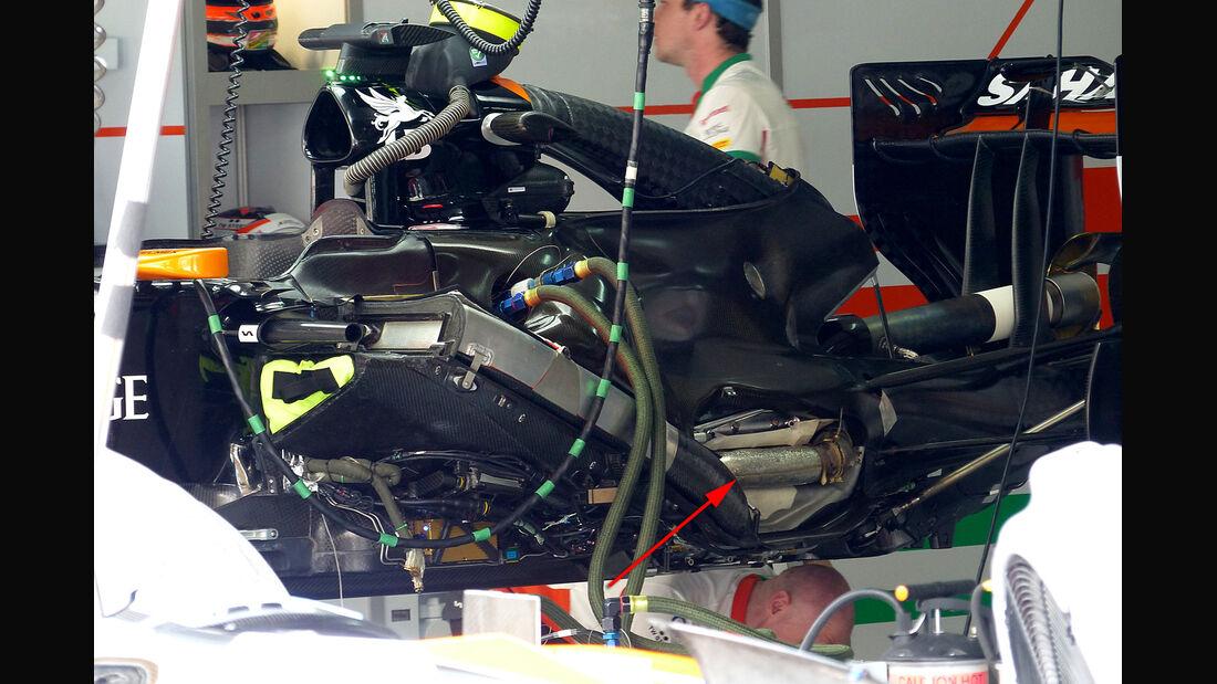 Force India - F1 Motor 2014