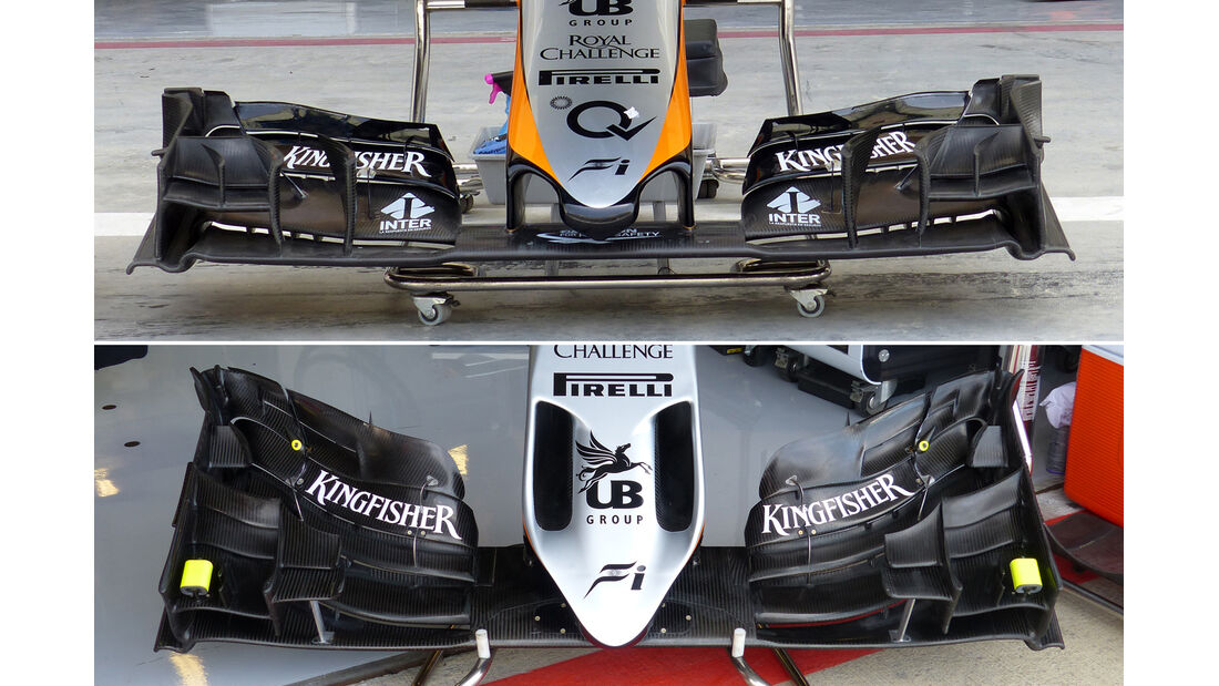 Force India - F1 Technik - GP England 2015