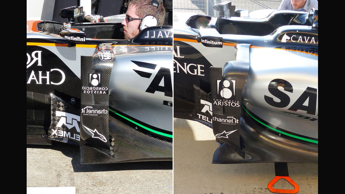 Force India - F1 Technik - GP England 2015