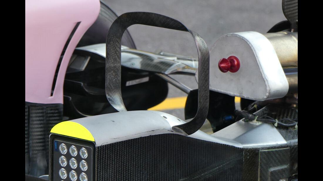 Force India - F1-Technik - GP Monaco 2017
