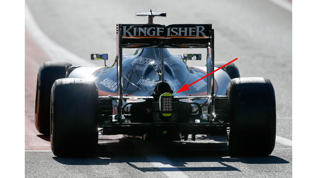 Force India - F1 Technik - GP USA 2016