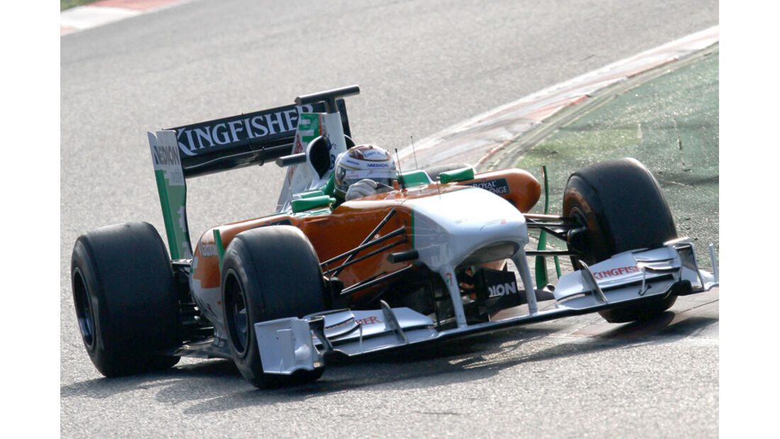 Force India F1 Test 2011